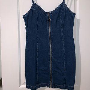 Topshop Denim Dress